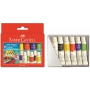 Farby tempery FABER CASTELL 6kol.